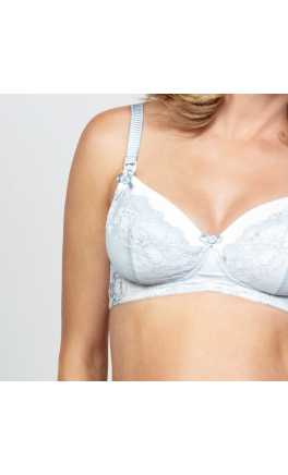 French Vanilla Maternity Nursing Bra / 75D 80B