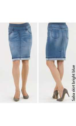 Maternity and after jeans skirt SABA